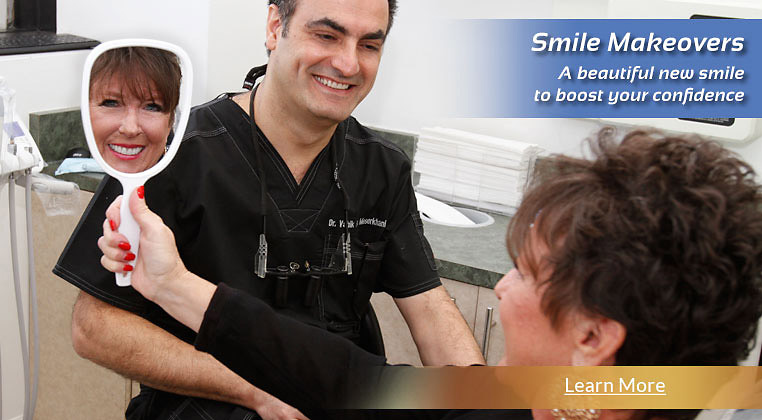 Smile Makeovers! A beautiful new smile to boost your confidence. Learn more.