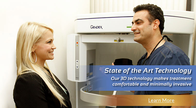 State of the Art Technology! Our 3D technology makes treatment comfortable and minimally invasive. Learn more.